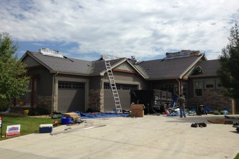 denver colorado residential roof installation